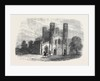 The Garrison Church Fort William Calcutta 1866 by Anonymous