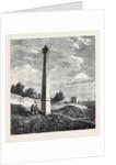The Garibaldi Monument at Quarto Near Geno 1866 by Anonymous