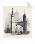 The Royal Memorial Arch at Fettercairn Kincardineshire Scotland UK 1866 by Anonymous