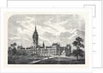 The Glasgow University: Intended New Buildings UK 1866 by Anonymous
