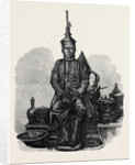 The King of Siam in State Costume 1866 by Anonymous