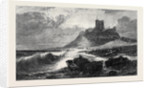 Bamborough Castle a Signal of Distress in the Offing, in the Exhibition of the Society of British Artists 1866 by Anonymous