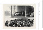 The Volunteer Review at Brighton: The Royal Balcony at the Grand Stand UK 1866 by Anonymous