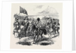 The Volunteer Review at Brighton: The Prince of Wales Passing the Saluting Point at the Head of the Hon. Artillery Company UK 1866 by Anonymous