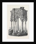 Model of Pulpit in the Baptistery at Pisa Italy by Anonymous