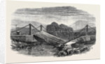 Wreck of the Victoria Bridge Natal South Africa 1866 by Anonymous