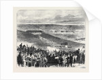 The Volunteers at Brighton: Shooting for the Town Prizes at the Sheepcote Battery UK 1866 by Anonymous