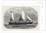 Barge for Conveying Invalids to Haslar and Netley Hospitals 1866 by Anonymous