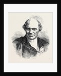 The Late Rev. Dr. Whewell Master of Trinity College Cambridge UK 1866 by Anonymous
