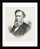 The Rev. John H. James D.D. President of the Wesleyan Methodist Conference 1871 by Anonymous