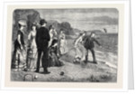 Croquet Under Difficulties 1871 by Anonymous