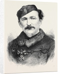Sir Randall Roberts Bart. Captain of the Irish Eight at Wimbledon 1871 by Anonymous