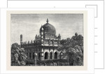 Tomb of King Ibrabim at Beejapoor India 1871 by Anonymous