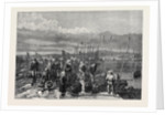 Sardine Fishery on the Coast of Brittany France 1871 by Anonymous