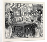 Sketches in the International Exhibition: Printing the Key. 1871 by Anonymous