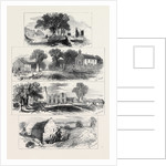 Sketches of Goldsmith's Deserted Village Lishoy or Auburn Near Athlone 1871 by Anonymous