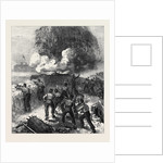 Siege Operations at Chatham: Explosion of a Mine 1871 by Anonymous
