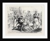 Scene from Partners for Life at the Globe Theatre London 1871 by Anonymous