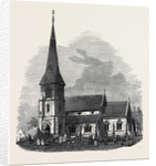 Fosdyke Church Lincolnshire 1871 by Anonymous