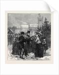Sandringham Church Sunday Dec. 10: Anxious Inquiries 1871 by Anonymous