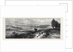 View Near Sandringham Looking North-West to Dersingham and the Railway at Wolferton 1871 by Anonymous