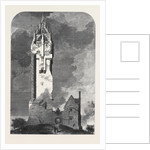 The National Wallace Monument About to Be Built on the Abbey Craig Near Stirling by Anonymous