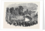 Funeral of Mr Braidwood the Late Chief of the London Fire Brigade in Abney Park Cemetery by Anonymous