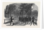The Civil War in America: Unionist Scouting Party in the Virginian Woods in the Neighbourhood of Alexandria by Anonymous