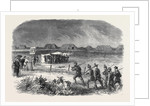 Firing at the 200 Yards Range on Thursday Week National Rifle Association Meeting at Wimbledon July 13 1861 by Anonymous