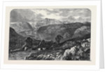 The Valley of the Lledr, from the Exhibition of the New Water Colour Society by Anonymous
