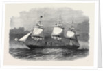 Her Majesty's Ironclad Steamfrigate Warrior 40 Guns by Anonymous