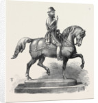 Silver Statuette of William the Taciturn a Prize for the Forthcoming International Steeplechase at Baden-Baden Germany by Anonymous