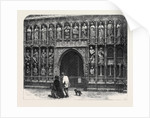 The British Archaeological Association at Exeter: West Screen of Exeter Cathedral by Anonymous