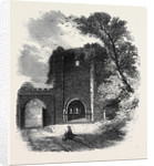 The British Archaeological Association at Exeter Rougemont Castle: Interior of Gateway Seen from Castle Yard by Anonymous