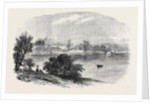 The Government House Viewed from the Eastern Side of the Lower Botanic Garden Sketches from Sydney New South Wales by Anonymous