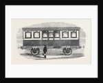 Her Majesty's Carriage on the London and North-Western Railway by Anonymous