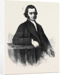 The Rev. John Rattenbury President of the Wesleyan Methodist Society for 1861-1862 by Anonymous