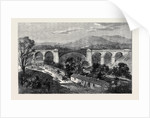 Viaduct on the Lime Branch of the Lancaster and Carlisle Railway by Anonymous