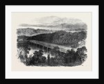The War in America: The Chain Bridge Across the Potomac above Georgetown Looking Towards the Virginian Shore by Anonymous