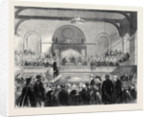 Lord Palmerston Distributing Certificates to the Successful Candidates in the Recent Oxford Middle-Class Examinations at Southampton by Anonymous