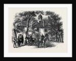 The Civil War in America: Fairfax Courthouse the Headquarters of General Beauregard by Anonymous