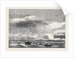 The Sea Breaking Over the Cliff at Tynemouth During the Gale on Saturday the 2nd Inst. November 16 1861 by Anonymous