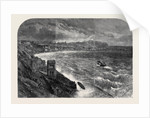 The Late Gales the Storm at Scarborough by Anonymous