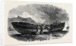 The Scarborough Life Boat after the Storm by Anonymous