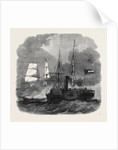 Destruction of the Federal Merchantman Harvey Birch by the Confederate War Sloop Nashville by Anonymous