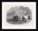 Fort Montgomery at Rowse's Point Lake Champlain by Anonymous