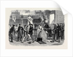 Scene from Mr. Boucicault's New Drama at the Adelphi: The Slave Market Sale of the Octoroon by Anonymous