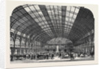 Interior of the New Agricultural Hall Islington by Anonymous