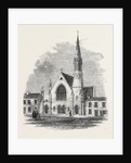 Congregational Bicentenary Memorial Church in Course of Erection at Darlington by Anonymous