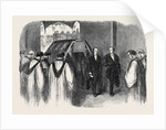 Reception of the Body by the Clergy at the Entrance of St. George's Chapel the Funeral of His Late Royal Highness the Prince Consort Prince Albert by Anonymous